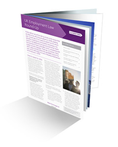 UK Employment Newsletter 3DCover